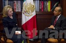 Mỹ, Mexico tăng hợp tác chống tội phạm ma túy