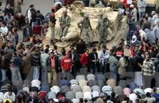 Ai Cập không sử dụng vũ lực với người biểu tình