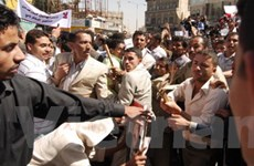Tình hình Yemen căng thẳng vì các cuộc biểu tình