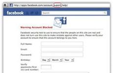 """Cảnh giác """"bẫy"""" lừa đảo bảo mật trên Facebook"""