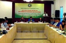 Hội nghị Liên đoàn thanh niên dân chủ tại Hà Nội