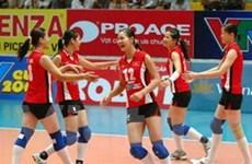 Chiến thắng đầu tiên của bóng chuyền nữ Việt Nam