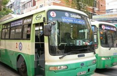 TP.HCM chuẩn bị chạy tuyến xe buýt xanh đầu tiên