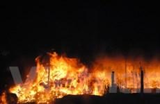 Cháy 2.500m2 nhà xưởng, thiệt hại cả trăm tỷ đồng