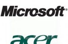 Microsoft-Acer đạt thỏa thuận về cấp bằng sáng chế
