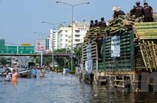 Thái Lan hy vọng xả thêm 5,5 tỷ m3 nước ra biển