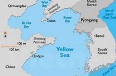 Hải quân Hàn diễn tập bắn đạn thật ở Hoàng Hải