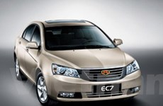 Geely chuẩn bị bán xe Sedan Emgrand EC7 ở Anh