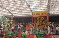 Ngày 13 tháng Giêng khai hội Đền Trần Thái Bình