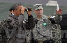 Tổng thống Obama thăm Khu phi quân sự liên Triều