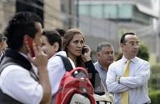 Mexico: Chưa đầy 12 giờ xảy ra tới 2 trận động đất