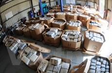 Cảnh sát Canada tịch thu lô ma túy nặng tới 43 tấn