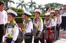 Trại hè quân ngũ: Thiếu nhi học trở thành chiến sỹ
