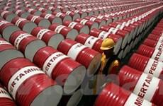 Giá dầu ngọt nhẹ tăng, dầu Brent Biển Bắc giảm nhẹ