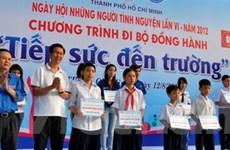 Lễ ra quân Ngày hội những người tình nguyện 2012
