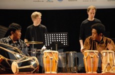 Liên hoan âm nhạc bộ gõ Âu-Á lần thứ 3 ở Việt Nam