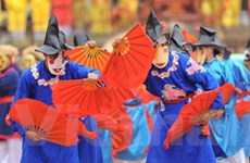 Lễ hội Lam Kinh: Phục dựng năm trò diễn Xuân Phả