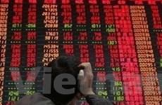 Chứng khoán châu Á giảm do lo ngại mới về Eurozone