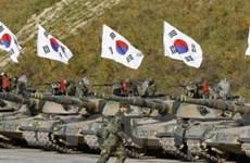 Hàn Quốc tập trận ứng phó các đe dọa từ Triều Tiên