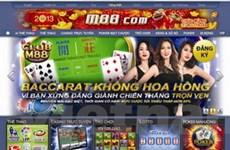 """Bắt đối tượng """"đại lý"""" của trang mạng đánh bạc M88"""