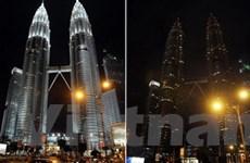 Malaysia tắt đèn hưởng ứng chiến dịch giờ Trái Đất