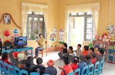 Phú Thọ đã hoàn thành phổ cập giáo dục mầm non