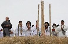 Nước Nhật trầm lắng trong thời khắc tưởng niệm
