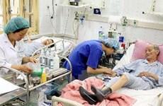 Công suất sử dụng giường bệnh tuyến TW là 112,5%