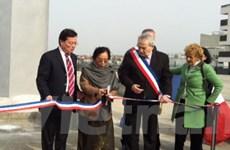 Khánh thành Quảng trường Hiệp định Paris tại Pháp