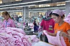 Xuất khẩu hàng may mặc của Campuchia tăng mạnh
