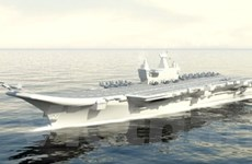 Ấn Độ chuẩn bị hạ thủy tàu sân bay tự đóng đầu tiên