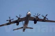 Nga điều siêu máy bay ném bom chiến lược tập trận
