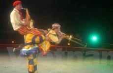 Hề xiếc Việt Nam đoạt giải nhất tại Circuba 2013