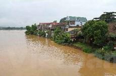Nước sông dâng cao gây ngập cục bộ tại Phú Thọ
