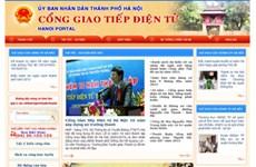 Website Hà Nội - cầu nối chính quyền và người dân
