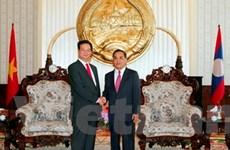 Nhiều hoạt động kỷ niệm 50 năm quan hệ Lào-Việt