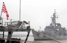 Khu trục Nhật rời căn cứ đối phó tên lửa Triều Tiên