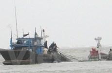 Cứu 4 ngư dân trong một gia đình khỏi bị chìm tàu