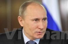 Nga phát hành tem mới mừng ông Putin nhậm chức