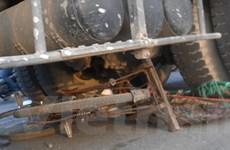 TP.HCM: Xe bồn cán xe đạp khiến 1 phụ nữ tử vong