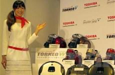 """Hãng Toshiba ra mắt loại robot quét nhà """"giá mềm"""""""