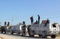 Mỹ thúc Ai Cập phối hợp Israel về quân sự ở Sinai