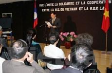 Sôi nổi cuộc gặp gỡ hữu nghị Việt - Lào tại Pháp