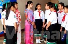 Học sinh VN ở Lào nô nức khai giảng năm học mới