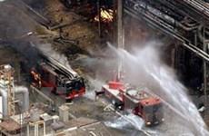 Nổ nhà máy hoá chất tại Nhật, ít nhất một người chết