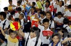 Đêm hội Trăng rằm của thiếu nhi Việt Nam tại Lào