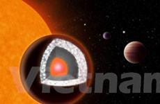 Phát hiện hành tinh kim cương to gấp 2 lần Trái Đất