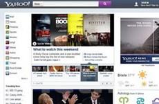 Hé lộ những thiết kế mới nhất của trang chủ Yahoo