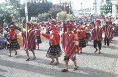 Rộn ràng lễ hội âm nhạc dân gian tại đất nước Peru