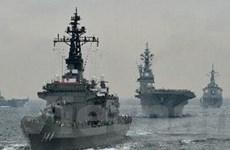 Quân đội Nhật Bản và Mỹ bắt đầu tập trận chung